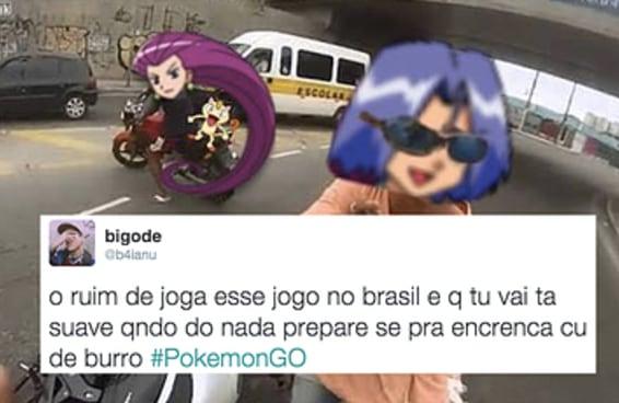 Pokémon GO já é a melhor coisa do Brasil antes mesmo de chegar aqui