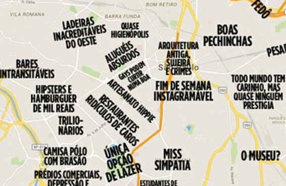 O mapa definitivo dos estereótipos paulistanos