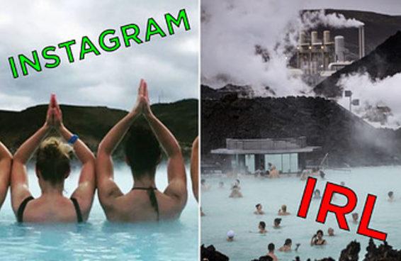 A Lagoa Azul islandesa é bem diferente na realidade das suas fotos no Instagram