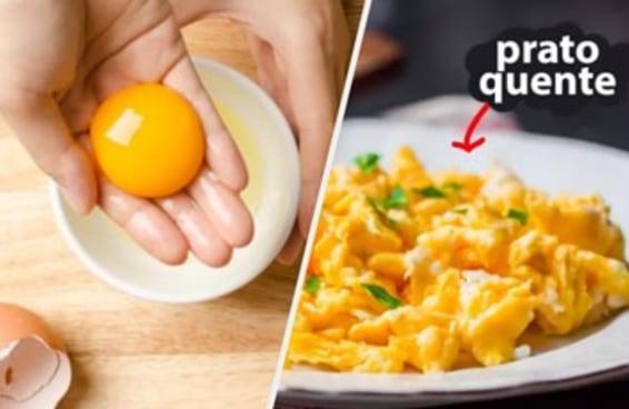 12 truques de chefs de cozinha para preparar ovos