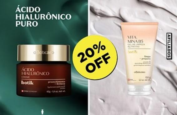 Estes produtos para cuidar da pele estão com 20% de desconto