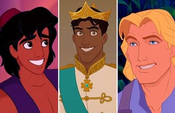 Quantos % príncipe da Disney você seria?