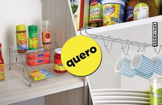 11 produtos para organizar a sua cozinha de uma vez por todas