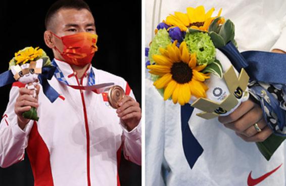 A gente descobriu que os buquês de flores da Olimpíada têm um significado especial