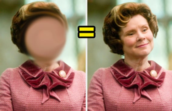"""Você consegue reconhecer os personagens de """"Harry Potter"""" com os rostos apagados?"""