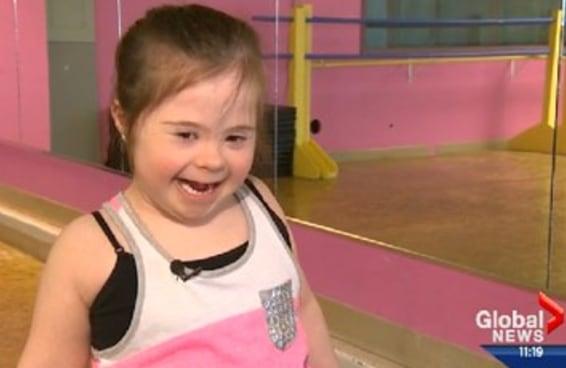 Após ser recusada por uma escola de dança, uma menina com Síndrome de Down decidiu arrasar