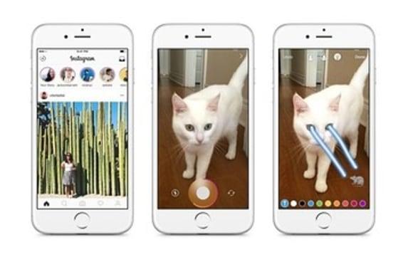 Instagram lança recurso em que fotos e vídeos somem como no Snapchat