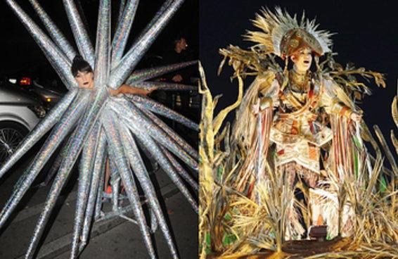 Lady Gaga ou destaque de escola de samba?