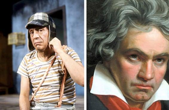 "A música de abertura original do ""Chaves"" foi feita por Beethoven"