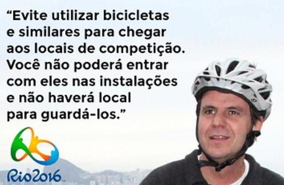 Rio gastou R$ 44 mi em ciclovias, mas pessoas não poderão ir de bicicleta a competições