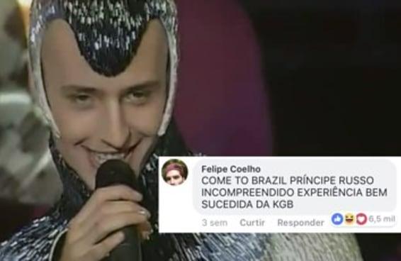 Este cantor russo virou meme no Brasil e está totalmente iludido