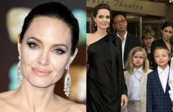 Eu estou me sentindo uma SENHORINHA ao ver como os filhos de Jolie e Pitt estão crescidos