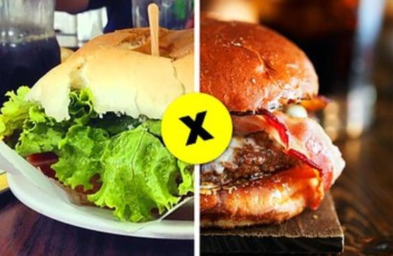 Você prefere comida normal ou comida chique?