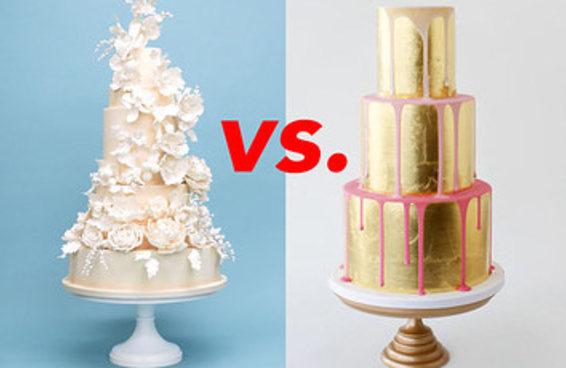 Reaja a estes bolos de casamento e diremos com quantos anos você vai casar