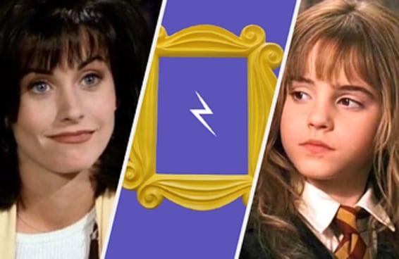 Qual mistura de um personagem de Harry Potter com um personagem de Friends é você?