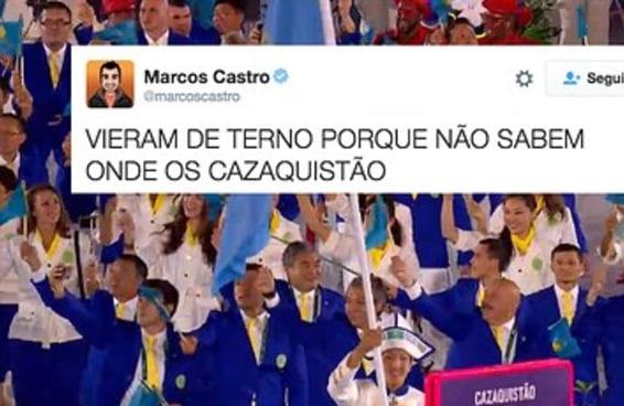 46 medalhas de ouro para os melhores tuítes da abertura da Olimpíada