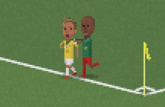 Quantos momentos marcantes desta Copa você reconhece (em 8-bits)?