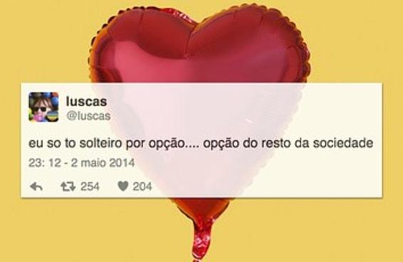 16 tuítes sobre ser solteiro que vão te fazer chorar (de rir)