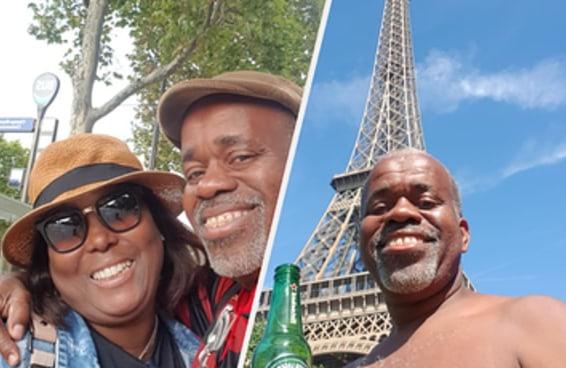 Nenhuma lua de mel na Europa vai ser tão legal quanto a do casal Ismael e Cristiane