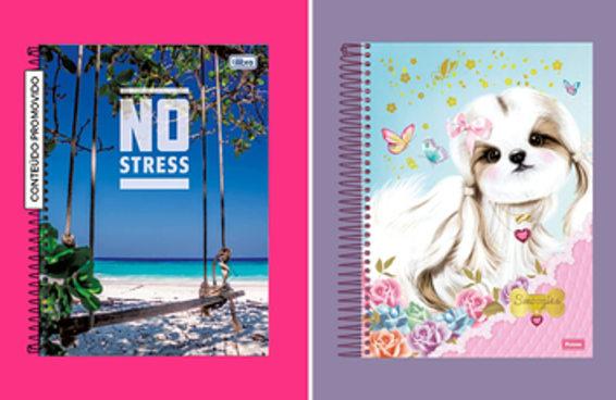 12 cadernos para você se sentir como estudante do Múltipla Escolha