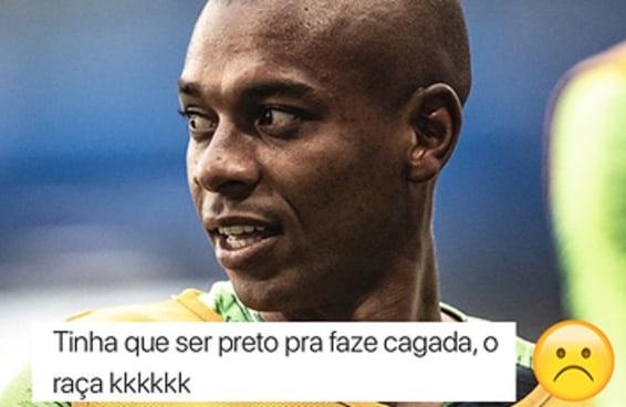 Os comentários racistas sobre Fernandinho são mais tristes que perder a Copa