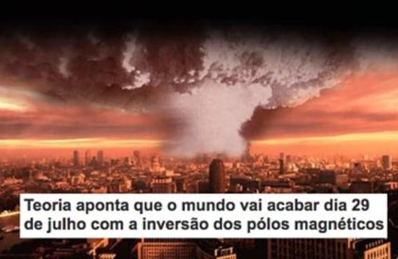 Uma teoria avisa que o mundo vai acabar dia 29 de julho