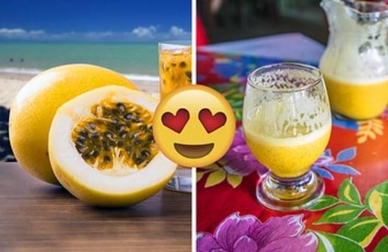 Este post é só pra dizer que maracujá é a melhor fruta do mundo