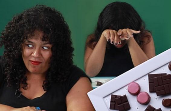 #TastyTesta - Pessoas provam chocolates exóticos