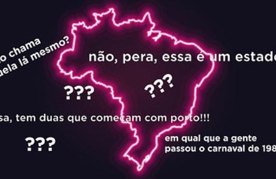 Duvido você se lembrar de 17 capitais brasileiras em menos de dois minutos
