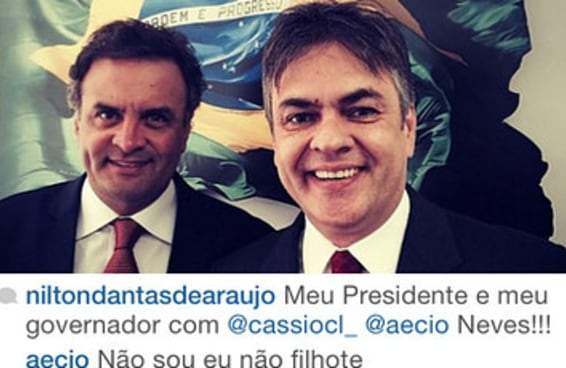 Este cara não aguentava mais explicar no Twitter que ele não é o Aécio Neves