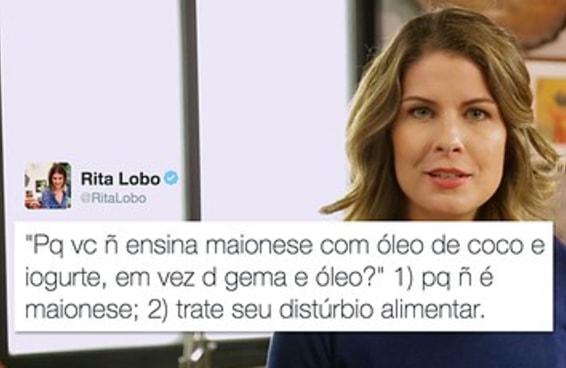 """Rita Lobo entrou numa cruzada contra quem tem mania de """"alimentação saudável"""""""