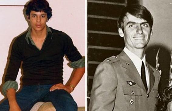 Aqui estão fotos dos candidatos à presidência da República quando jovens