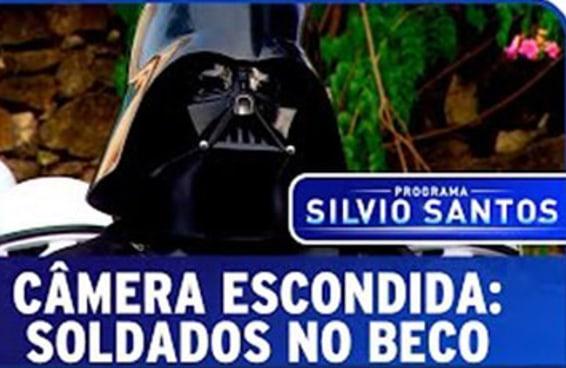 A pegadinha do Star Wars do Silvio Santos testa os limites do surreal