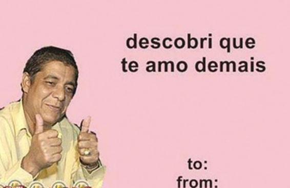 """Ainda dá tempo de você mandar um cartão de """"Valentine's"""" bem brasileiro"""