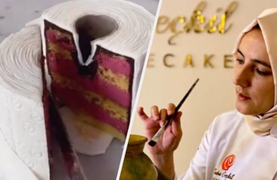 Esta é a mulher responsável por criar os bolos realistas que enlouqueceram a internet
