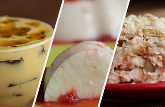 Sobremesas com frutas para o Ano Novo