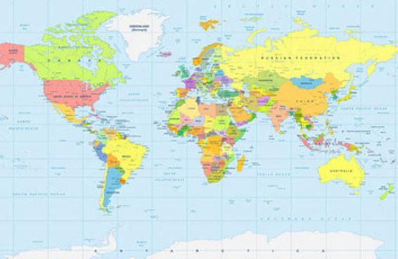 Você sabe um país para cada letra do alfabeto?
