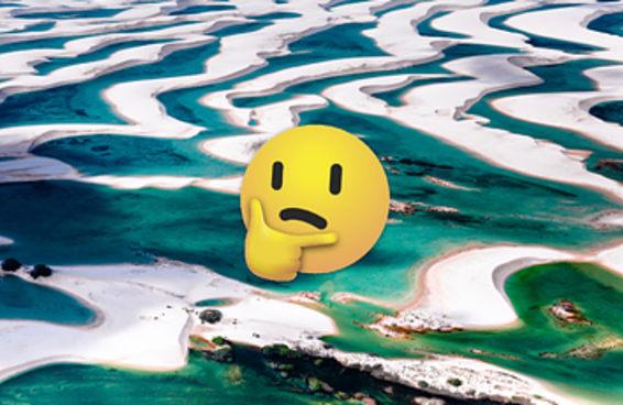 Você sabe dizer se estas praias ficam em Cuba ou no Maranhão?
