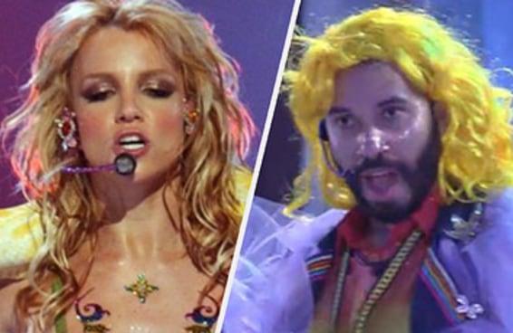 Só quem ama a Britney tanto quanto o Gil vai mandar bem nesse teste