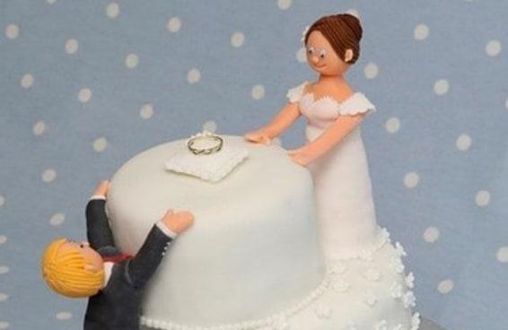 24 bolos de divórcio hilários que são até melhores do que bolos de casamento