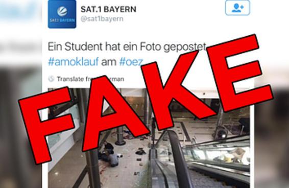 Fotos viralizaram como se fossem do ataque em Munique mas são de eventos passados