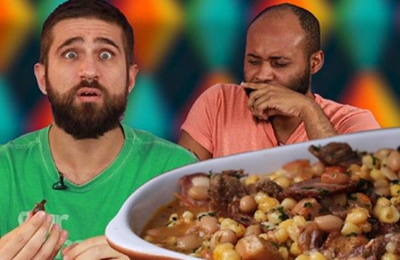 #TASTYTESTA: pessoas de São Paulo provam comidas de Festa Junina de outros estados brasileiros