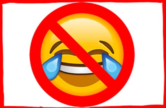 ATENÇÃO, PESSOAL DA TERCEIRA IDADE: o emoji de 😂 não significa o que vocês pensam que ele significa