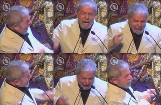 Este vídeo do Lula dizendo que o PT é uma merda é viciante