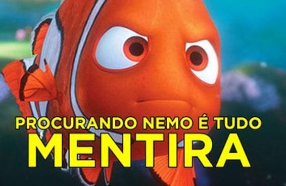 """A verdade por trás de """"Procurando Nemo"""" vai desgraçar toda sua cabeça"""