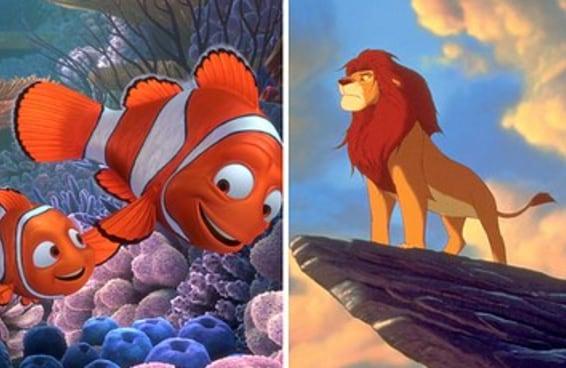 Quantos filmes de desenho animado você já viu?