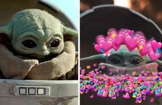 "Ainda nem assisti ""The Mandalorian"", mas já amo o bebê Yoda"