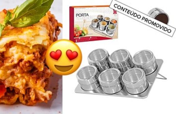 Teste seus conhecimentos culinários e te indicaremos um produto maravilhoso