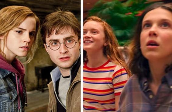 """Todo mundo é uma mistura de personagens de """"Stranger Things"""" e """"Harry Potter"""" — aqui está a sua"""