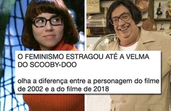18 provas de que o feminismo não estragou a Velma de Scooby-Doo